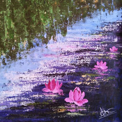 water lilies, 20 x 18 inch, aruna asaf ali,20x18inch,canvas,flower paintings,nature paintings | scenery paintings,paintings for dining room,paintings for living room,paintings for bedroom,paintings for office,paintings for bathroom,paintings for kids room,paintings for hotel,paintings for kitchen,paintings for school,paintings for hospital,paintings for dining room,paintings for living room,paintings for bedroom,paintings for office,paintings for bathroom,paintings for kids room,paintings for hotel,paintings for kitchen,paintings for school,paintings for hospital,acrylic color,GAL0602730076