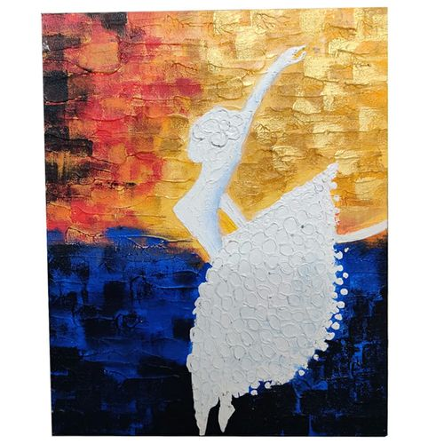 dancing lady, 12 x 16 inch, fatema batterywala,12x16inch,canvas,abstract paintings,figurative paintings,modern art paintings,paintings for dining room,paintings for living room,paintings for bedroom,paintings for office,paintings for hotel,paintings for dining room,paintings for living room,paintings for bedroom,paintings for office,paintings for hotel,acrylic color,GAL01848030083