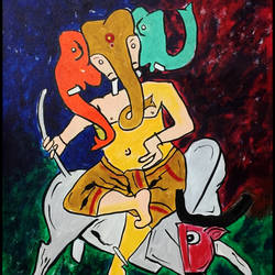 abstract horses, 35 x 25 inch, akash bhisikar,35x25inch,canvas,paintings,abstract paintings,wildlife paintings,nature paintings | scenery paintings,animal paintings,paintings for dining room,paintings for living room,paintings for bedroom,paintings for office,paintings for bathroom,paintings for kids room,paintings for hotel,paintings for kitchen,paintings for school,paintings for hospital,acrylic color,GAL01828630089