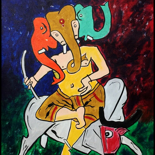abstract horses, 35 x 25 inch, akash bhisikar,35x25inch,canvas,paintings,abstract paintings,wildlife paintings,nature paintings   scenery paintings,animal paintings,paintings for dining room,paintings for living room,paintings for bedroom,paintings for office,paintings for bathroom,paintings for kids room,paintings for hotel,paintings for kitchen,paintings for school,paintings for hospital,acrylic color,GAL01828630089