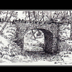 bridge, 8 x 5 inch, siva raja,8x5inch,paper,paintings for dining room,paintings for living room,paintings for bedroom,paintings for office,paintings for hotel,paintings for kitchen,paintings for hospital,figurative drawings,fine art drawings,folk drawings,illustration drawings,realism drawings,paintings for dining room,paintings for living room,paintings for bedroom,paintings for office,paintings for hotel,paintings for kitchen,paintings for hospital,pen color,paper,GAL01840230142