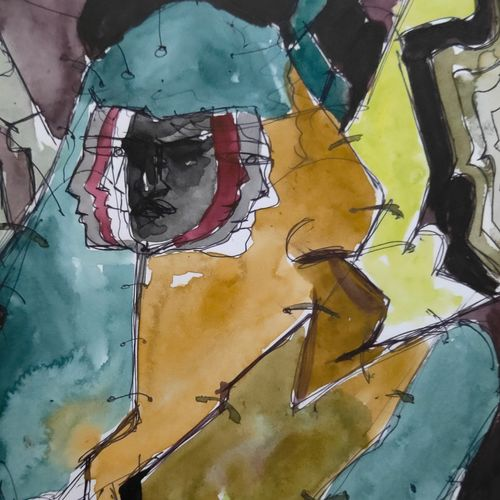 playing instrument, 11 x 7 inch, sunil  kumar,11x7inch,paper,paintings,abstract paintings,modern art paintings,conceptual paintings,abstract expressionism paintings,expressionism paintings,surrealism paintings,paintings for dining room,paintings for living room,paintings for bedroom,paintings for office,paintings for bathroom,paintings for kids room,paintings for hotel,paintings for school,paintings for dining room,paintings for living room,paintings for bedroom,paintings for office,paintings for bathroom,paintings for kids room,paintings for hotel,paintings for school,watercolor,paper,GAL01863930171