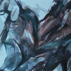 silent tolking, 11 x 7 inch, sunil  kumar,11x7inch,paper,abstract paintings,modern art paintings,conceptual paintings,abstract expressionism paintings,expressionism paintings,paintings for dining room,paintings for living room,paintings for bedroom,paintings for office,paintings for bathroom,paintings for hotel,paintings for school,paintings for dining room,paintings for living room,paintings for bedroom,paintings for office,paintings for bathroom,paintings for hotel,paintings for school,watercolor,paper,GAL01863930183