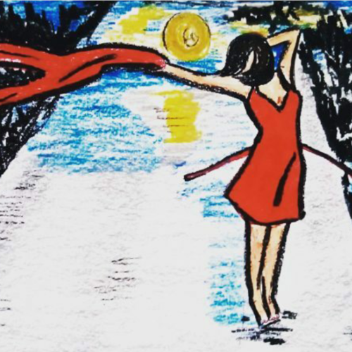 unstoppable you, 12 x 8 inch, shinam bedi,12x8inch,paper,paintings,figurative paintings,expressionism paintings,paintings for dining room,paintings for living room,paintings for bedroom,paintings for office,paintings for bathroom,paintings for kids room,paintings for hotel,paintings for kitchen,paintings for dining room,paintings for living room,paintings for bedroom,paintings for office,paintings for bathroom,paintings for kids room,paintings for hotel,paintings for kitchen,mixed media,pastel color,GAL01863230217