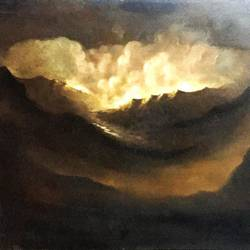 clouds, 38 x 23 inch, balbir art  gallery,38x23inch,canvas,paintings,landscape paintings,nature paintings | scenery paintings,oil color,GAL01076530226