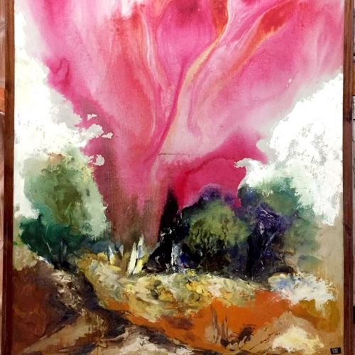 life, 37 x 49 inch, balbir art  gallery,37x49inch,canvas,paintings,abstract paintings,landscape paintings,modern art paintings,nature paintings   scenery paintings,paintings for dining room,paintings for living room,paintings for bedroom,paintings for office,paintings for bathroom,oil color,GAL01076530229