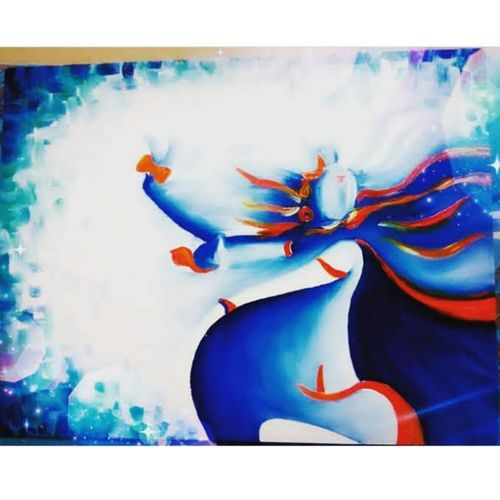 shivaay, 12 x 16 inch, soumya tripathi,12x16inch,canvas,paintings,abstract paintings,religious paintings,ganesha paintings | lord ganesh paintings,lord shiva paintings,paintings for living room,paintings for office,paintings for hotel,paintings for school,paintings for hospital,oil color,GAL01865530237