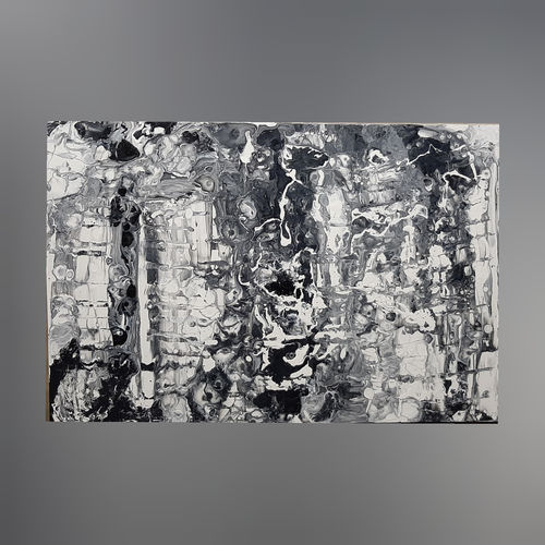 a black and white day, 36 x 24 inch, ruchir jain,36x24inch,canvas,paintings,abstract paintings,acrylic color,GAL01869930258