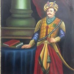 raja, 30 x 48 inch, balbir art  gallery,30x48inch,canvas,paintings,figurative paintings,religious paintings,portrait paintings,portraiture,paintings for dining room,paintings for living room,paintings for bedroom,paintings for office,paintings for hotel,paintings for dining room,paintings for living room,paintings for bedroom,paintings for office,paintings for hotel,oil color,GAL01076530262
