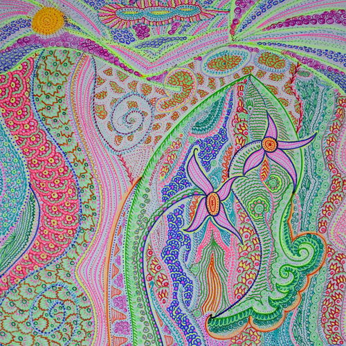 wonderland, 11 x 16 inch, shraddha ramteke,11x16inch,drawing paper,drawings,abstract drawings,paintings for living room,ink color,GAL01874630308