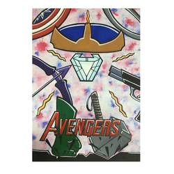 the avengers poster, 19 x 25 inch, rafah malim,19x25inch,thick paper,abstract paintings,paintings for kids room,paintings for kids room,poster color,GAL01673230314
