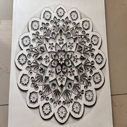 3d mandala, 10 x 13 inch, tanushri ghosh,10x13inch,paper,drawings,realism drawings,paintings for dining room,paintings for living room,paintings for bedroom,paintings for bathroom,paintings for kids room,paintings for hotel,paintings for kitchen,paintings for school,paintings for hospital,ink color,pen color,pencil color,ball point pen,graphite pencil,paper,GAL01890630477
