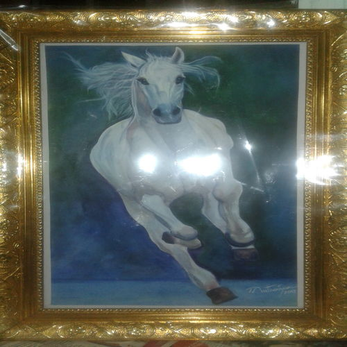 running hotse, 10 x 18 inch, sujitha artgallery,10x18inch,thick paper,paintings,wildlife paintings,paintings for living room,watercolor,GAL049630587