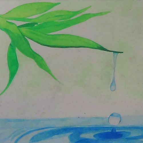 morning dew, 11 x 7 inch, daisy babu,11x7inch,paper,paintings,abstract paintings,wildlife paintings,landscape paintings,nature paintings | scenery paintings,expressionism paintings,realism paintings,paintings for dining room,paintings for living room,paintings for bedroom,paintings for office,paintings for bathroom,paintings for kids room,paintings for hotel,paintings for kitchen,paintings for school,paintings for hospital,watercolor,GAL01901930597