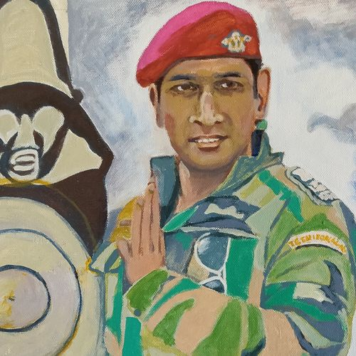 the colonel from indian army , 14 x 21 inch, shashikant kolambkar,14x21inch,canvas,paintings,conceptual paintings,portrait paintings,paintings for office,paintings for kids room,paintings for hotel,paintings for school,paintings for hospital,paintings for office,paintings for kids room,paintings for hotel,paintings for school,paintings for hospital,acrylic color,GAL01865930638