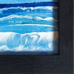 sea wave, 4 x 4 inch, dr. ahefaz mulani,4x4inch,canvas,paintings,abstract paintings,landscape paintings,nature paintings | scenery paintings,paintings for office,acrylic color,GAL01865730680