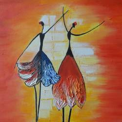 euphoria, 14 x 18 inch, parul mathur,14x18inch,canvas,paintings,abstract paintings,figurative paintings,paintings for dining room,paintings for living room,paintings for office,paintings for hotel,oil color,GAL01914130694