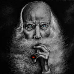 the oldman, 91 x 75 inch, sonal sahai,91x75inch,thick paper,drawings,realism drawings,paintings for dining room,paintings for living room,paintings for office,paintings for hotel,charcoal,pencil color,paper,GAL01867230750