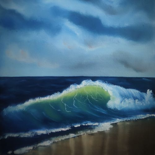 the wave's anatomy , 16 x 20 inch, sayak banerjee,16x20inch,canvas,landscape paintings,paintings for living room,paintings for bedroom,paintings for office,paintings for hotel,paintings for school,paintings for hospital,paintings for living room,paintings for bedroom,paintings for office,paintings for hotel,paintings for school,paintings for hospital,oil color,GAL01926330831