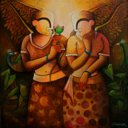 friendship , 45 x 45 inch, anupam  pal,45x45inch,canvas,paintings,abstract paintings,buddha paintings,figurative paintings,folk art paintings,cityscape paintings,modern art paintings,conceptual paintings,still life paintings,nature paintings | scenery paintings,abstract expressionism paintings,cubism paintings,expressionism paintings,impressionist paintings,photorealism paintings,horse paintings,mother teresa paintings,dog painting,elephant paintings,water fountain paintings,baby paintings,children paintings,kids paintings,islamic calligraphy paintings,madhubani paintings | madhubani art,warli paintings,lord shiva paintings,kalighat painting,phad painting,kalamkari painting,miniature painting.,gond painting.,kerala murals painting,serigraph paintings,paintings for dining room,paintings for living room,paintings for bedroom,paintings for office,paintings for bathroom,paintings for kids room,paintings for hotel,paintings for kitchen,paintings for school,paintings for hospital,acrylic color,GAL08230874