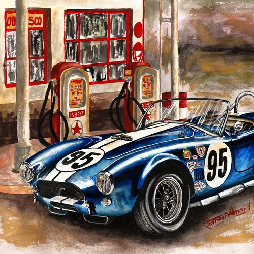 cobra, 30 x 23 inch, samit kamar,30x23inch,handmade paper,paintings,cityscape paintings,paintings for living room,paintings for office,watercolor,GAL0443431093