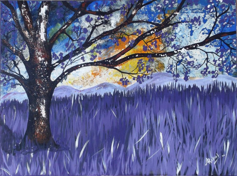 beauty of nature, 24 x 18 inch, rahul kumawat,abstract paintings,paintings for office,canvas,acrylic color,24x18inch,GAL0126311