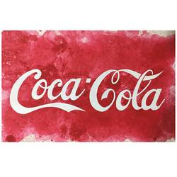 coca cola logo, 24 x 16 inch, rafah malim,24x16inch,thick paper,paintings,modern art paintings,paintings for living room,paintings for hotel,acrylic color,GAL01673231103