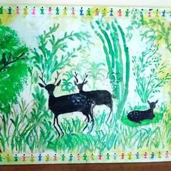 nature, 20 x 13 inch, rajinder kaur,20x13inch,thick paper,paintings,wildlife paintings,paintings for living room,paintings for bedroom,paintings for office,paintings for school,paintings for living room,paintings for bedroom,paintings for office,paintings for school,oil color,GAL0488331154