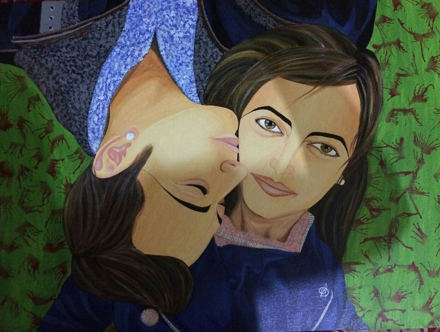 words can't express…..love, 24 x 18 inch, priyanka dubey  tiwari,love paintings,paintings for bedroom,figurative paintings,paintings for dining room,paintings for living room,canvas board,acrylic color,24x18inch,GAL012073117heart,family,caring,happiness,forever,happy,trust,passion,romance,sweet,kiss,love,hugs,warm,fun,kisses,joy,friendship,marriage,chocolate,husband,wife,forever,caring,couple,sweetheart