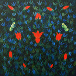 transformation, 24 x 24 inch, seby augustine,24x24inch,canvas,paintings,modern art paintings,conceptual paintings,still life paintings,nature paintings | scenery paintings,paintings for dining room,paintings for living room,paintings for bedroom,paintings for office,paintings for kids room,paintings for hotel,paintings for kitchen,paintings for school,paintings for hospital,acrylic color,GAL015031185