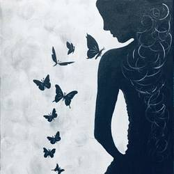 girl with butterflies , 10 x 10 inch, lisa serene ,10x10inch,canvas,abstract paintings,modern art paintings,animal paintings,paintings for dining room,paintings for living room,paintings for bedroom,paintings for office,paintings for bathroom,paintings for hotel,paintings for kitchen,paintings for dining room,paintings for living room,paintings for bedroom,paintings for office,paintings for bathroom,paintings for hotel,paintings for kitchen,acrylic color,GAL01951231193