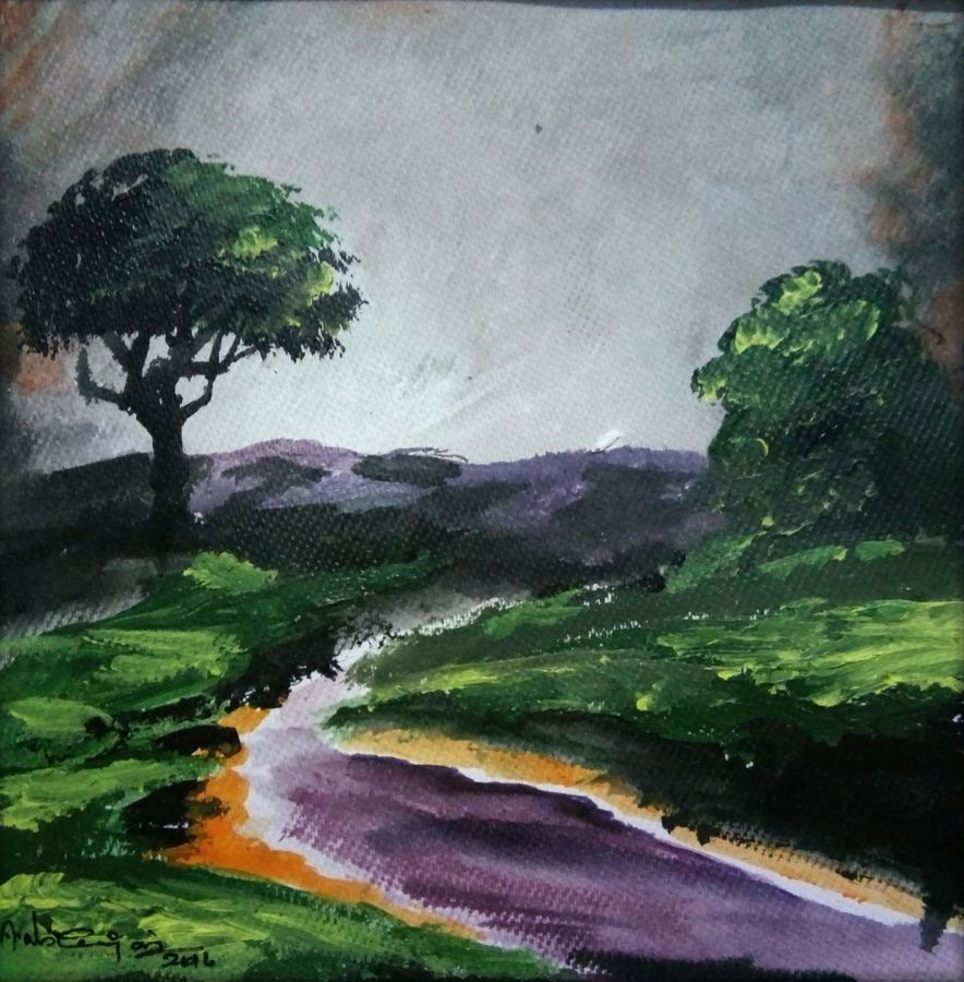 Abstract landscape 4