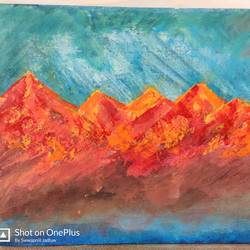 orange mountains, 14 x 18 inch, chandrakant jadhav,14x18inch,canvas,paintings,abstract paintings,landscape paintings,portrait paintings,abstract expressionism paintings,paintings for dining room,paintings for living room,paintings for bedroom,paintings for office,paintings for kids room,paintings for hotel,paintings for kitchen,paintings for school,paintings for hospital,paintings for dining room,paintings for living room,paintings for bedroom,paintings for office,paintings for kids room,paintings for hotel,paintings for kitchen,paintings for school,paintings for hospital,oil color,GAL01590731311