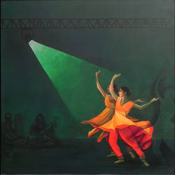 katthak dance , 36 x 36 inch, mitwa mistry,36x36inch,canvas,paintings,figurative paintings,folk art paintings,contemporary paintings,realistic paintings,paintings for dining room,paintings for living room,paintings for bedroom,paintings for office,paintings for kids room,paintings for hotel,paintings for school,paintings for dining room,paintings for living room,paintings for bedroom,paintings for office,paintings for kids room,paintings for hotel,paintings for school,acrylic color,GAL01968431326