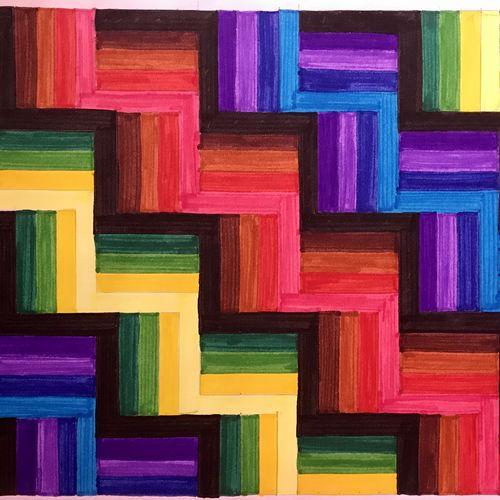 geometrical illusion, 16 x 12 inch, himani jhaveri,16x12inch,cartridge paper,paintings,abstract paintings,modern art paintings,conceptual paintings,art deco paintings,contemporary paintings,paintings for dining room,paintings for living room,paintings for bedroom,paintings for office,paintings for bathroom,paintings for kids room,paintings for hotel,paintings for kitchen,paintings for school,paintings for hospital,mixed media,GAL01972031374