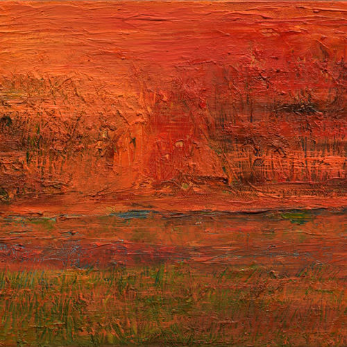 abstract landscape oil painting - evening edge , 12 x 10 inch, sayak mukherjee,12x10inch,canvas board,paintings,abstract paintings,landscape paintings,nature paintings | scenery paintings,art deco paintings,paintings for dining room,paintings for living room,paintings for bedroom,paintings for office,paintings for hotel,paintings for kitchen,paintings for hospital,oil color,GAL01973431388