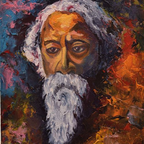 abstract portrait - rabindranath tagore, 8 x 10 inch, sayak mukherjee,8x10inch,canvas board,paintings,abstract paintings,figurative paintings,portrait paintings,art deco paintings,realism paintings,paintings for living room,paintings for bedroom,paintings for office,paintings for hotel,paintings for school,paintings for living room,paintings for bedroom,paintings for office,paintings for hotel,paintings for school,oil color,GAL01973431389