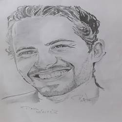 paul walker , 8 x 12 inch, prajwal h r,8x12inch,paper,drawings,figurative drawings,fine art drawings,portrait drawings,paintings for living room,paintings for bedroom,paintings for office,graphite pencil,GAL01973531404