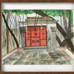 temple, 17 x 17 inch, priyanka srivastava,17x17inch,canvas,religious paintings,nature paintings | scenery paintings,contemporary paintings,realistic paintings,paintings for dining room,paintings for living room,paintings for bedroom,paintings for office,paintings for bathroom,paintings for kids room,paintings for hotel,paintings for kitchen,paintings for school,paintings for hospital,paintings for dining room,paintings for living room,paintings for bedroom,paintings for office,paintings for bathroom,paintings for kids room,paintings for hotel,paintings for kitchen,paintings for school,paintings for hospital,acrylic color,GAL01973231412