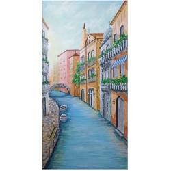 venice, 12 x 24 inch, sumaiya javed,12x24inch,canvas,paintings,cityscape paintings,landscape paintings,nature paintings | scenery paintings,paintings for living room,paintings for office,acrylic color,GAL01962831460
