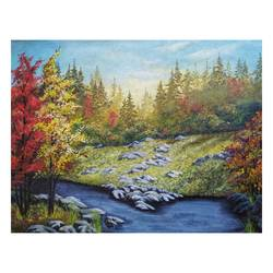autumn, 15 x 11 inch, sumaiya javed,15x11inch,canvas,paintings,landscape paintings,nature paintings | scenery paintings,realism paintings,realistic paintings,paintings for dining room,paintings for living room,paintings for bedroom,paintings for office,paintings for hotel,paintings for hospital,acrylic color,GAL01962831464