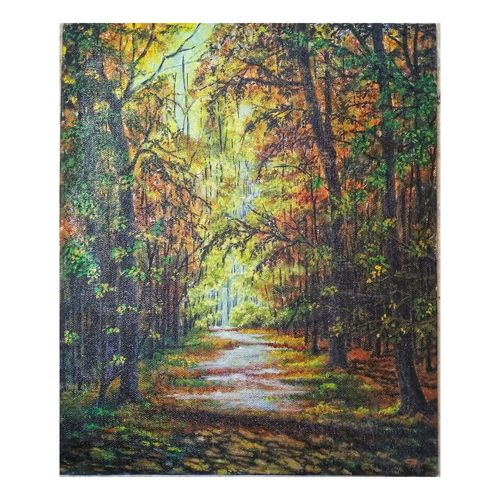 pathway, 10 x 12 inch, sumaiya javed,10x12inch,canvas board,paintings,cityscape paintings,landscape paintings,nature paintings | scenery paintings,photorealism paintings,photorealism,realism paintings,realistic paintings,paintings for dining room,paintings for living room,paintings for bedroom,paintings for office,paintings for hotel,paintings for hospital,acrylic color,GAL01962831476