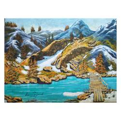 winter is coming, 15 x 11 inch, sumaiya javed,15x11inch,canvas,paintings,landscape paintings,nature paintings | scenery paintings,photorealism paintings,photorealism,realism paintings,realistic paintings,paintings for dining room,paintings for living room,paintings for bedroom,paintings for office,paintings for hotel,paintings for hospital,acrylic color,GAL01962831480