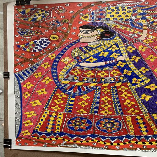 radha in traditional style, 12 x 17 inch, tanmoy prasad,12x17inch,ivory sheet,abstract paintings,figurative paintings,flower paintings,folk art paintings,multi piece paintings,portrait paintings,nature paintings | scenery paintings,art deco paintings,radha krishna paintings,contemporary paintings,madhubani paintings | madhubani art,paintings for dining room,paintings for living room,paintings for bedroom,paintings for office,paintings for bathroom,paintings for kids room,paintings for hotel,paintings for kitchen,paintings for school,paintings for hospital,paintings for dining room,paintings for living room,paintings for bedroom,paintings for office,paintings for bathroom,paintings for kids room,paintings for hotel,paintings for kitchen,paintings for school,paintings for hospital,acrylic color,fabric,graphite pencil,paper,GAL01947831486