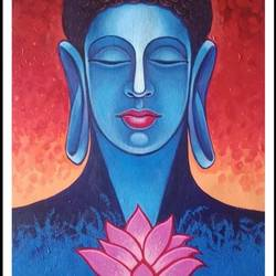 dhyan budha beauty, 16 x 33 inch, santosh dangare,16x33inch,canvas,buddha paintings,figurative paintings,modern art paintings,portrait paintings,paintings for dining room,paintings for living room,paintings for bedroom,paintings for office,paintings for kids room,paintings for hotel,paintings for kitchen,paintings for school,paintings for hospital,paintings for dining room,paintings for living room,paintings for bedroom,paintings for office,paintings for kids room,paintings for hotel,paintings for kitchen,paintings for school,paintings for hospital,acrylic color,GAL01969331490
