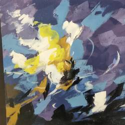 abstract work, 12 x 10 inch, sunitha pissay,12x10inch,canvas,paintings,abstract paintings,acrylic color,GAL01061731510
