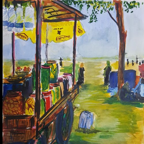 a beach view in kerala, 11 x 14 inch, antony correya,11x14inch,thick paper,paintings,abstract paintings,cityscape paintings,landscape paintings,multi piece paintings,expressionism paintings,impressionist paintings,photorealism,portraiture,street art,paintings for dining room,paintings for living room,paintings for bedroom,paintings for office,paintings for kids room,paintings for hotel,paintings for kitchen,paintings for school,paintings for dining room,paintings for living room,paintings for bedroom,paintings for office,paintings for kids room,paintings for hotel,paintings for kitchen,paintings for school,watercolor,GAL0971831593