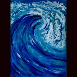 wave, 12 x 16 inch, priyanshu sharma,12x16inch,drawing paper,paintings,abstract paintings,landscape paintings,art deco paintings,paintings for dining room,paintings for living room,paintings for bedroom,paintings for office,paintings for hotel,paintings for school,paintings for hospital,acrylic color,GAL0973631623