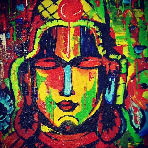 balaji, 14 x 18 inch, pratap jambu,14x18inch,canvas,paintings,abstract paintings,figurative paintings,religious paintings,paintings for dining room,paintings for living room,paintings for bedroom,paintings for hotel,acrylic color,GAL01984331630