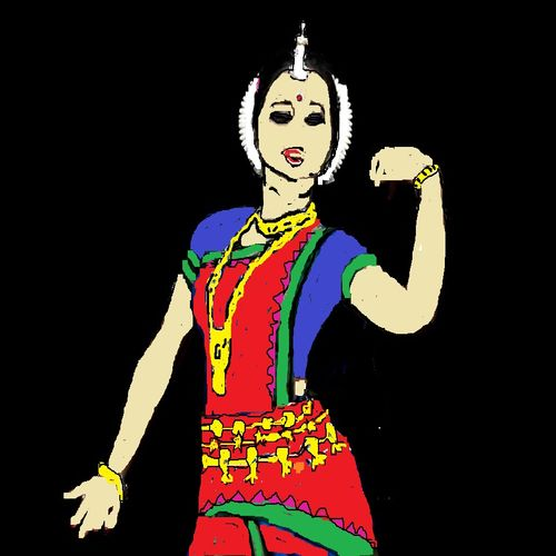 odissi, 20 x 15 inch, rajendra panda,20x15inch,paper,expressionism paintings,paintings for living room,paintings for office,paintings for kids room,paintings for hotel,paintings for school,paintings for hospital,paintings for living room,paintings for office,paintings for kids room,paintings for hotel,paintings for school,paintings for hospital,paper,GAL02002731686